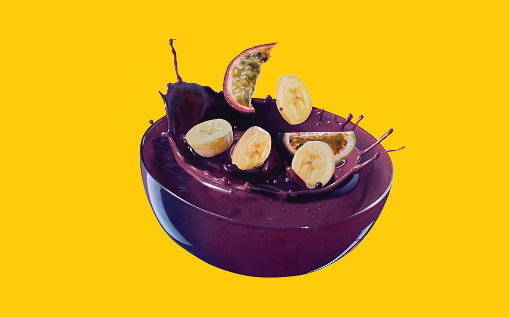 açai bowl avec des fruits