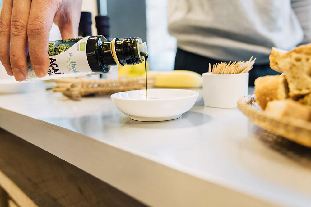 huile d'acai cuisine