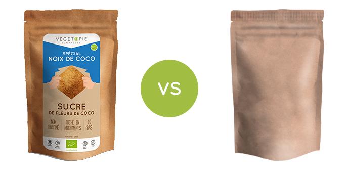 sucre de coco bio qualité superieure