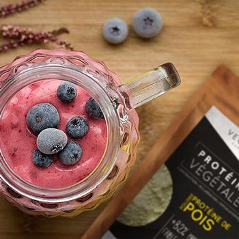 proteine de tournsol shake protéine