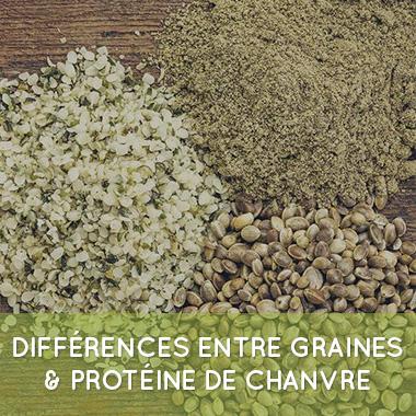 proteine et graine de chanvre