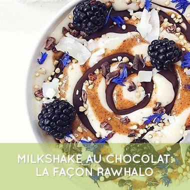 mylkshake chocolat cru
