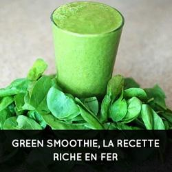 Spiruline recette green smoothie